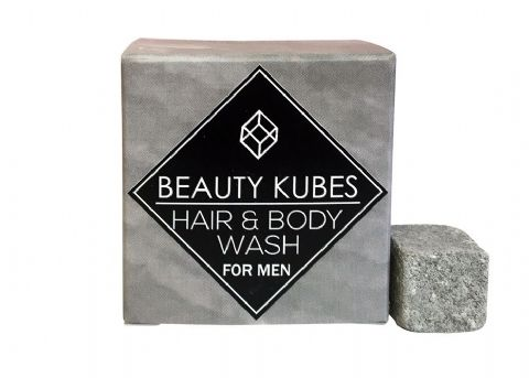 Beauty Kubes Hair and Body Wash Men